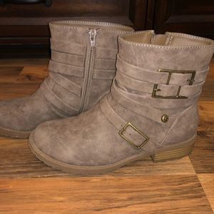 Guess Faux Leather Boots